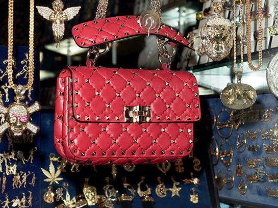 Valentino Rockstud Spike Bag, the new handbag by Valentino